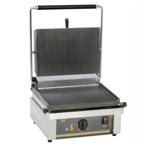 Τοστιέρα επαγγελματική μονή PANINI άνω-κάτω ραβδωτή Roller Grill 010.0402  45a4284dfeb