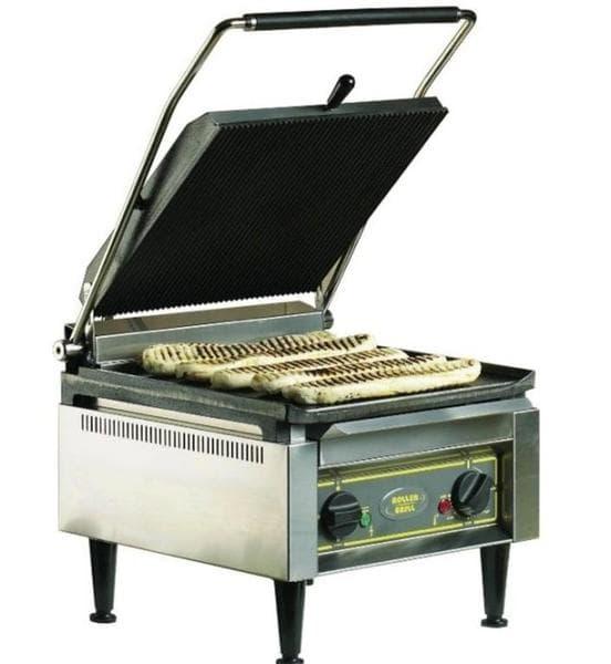 Τοστιέρα επαγγελματική μονή PANINI XL άνω - κάτω ραβδωτή Roller Grill  010.0290  76a3c03431c